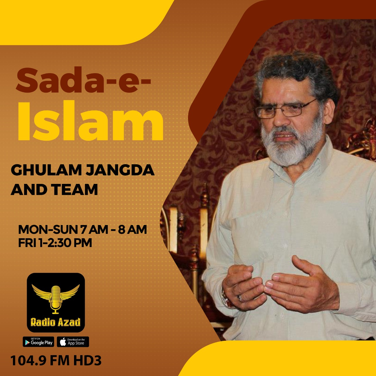 SADA-E-ISLAM – GULHAM JANGDA